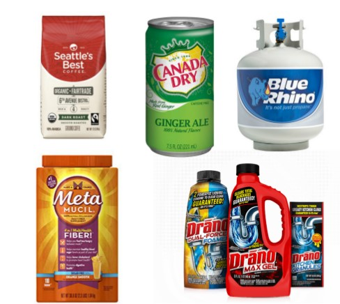 Newest Printable Coupons 06 08 Canada Dry Metamucil Blue Rhino More Myfreeproductsamples Com